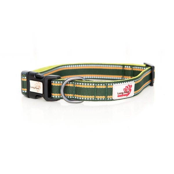 Long Paws Comfort Collection - Green Collar