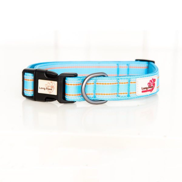 Long Paws Comfort Collection - Light Blue Collar