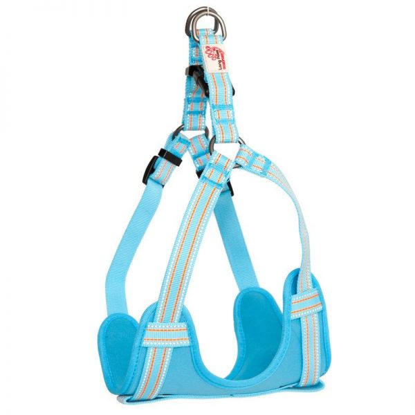 Long Paws Comfort Collection - Light Blue Harness